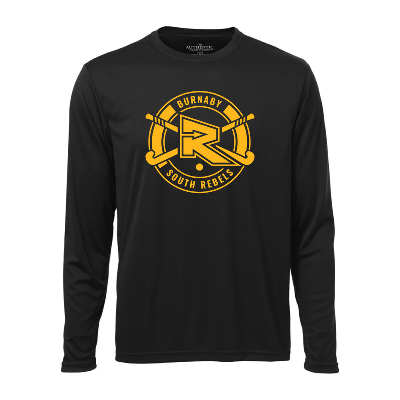 Rebels Field Hockey ATC™ Long Sleeve Performance Shirt - Black