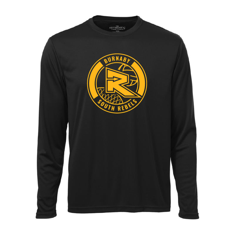 Rebels Netball ATC™ Long Sleeve Performance Shirt - Black