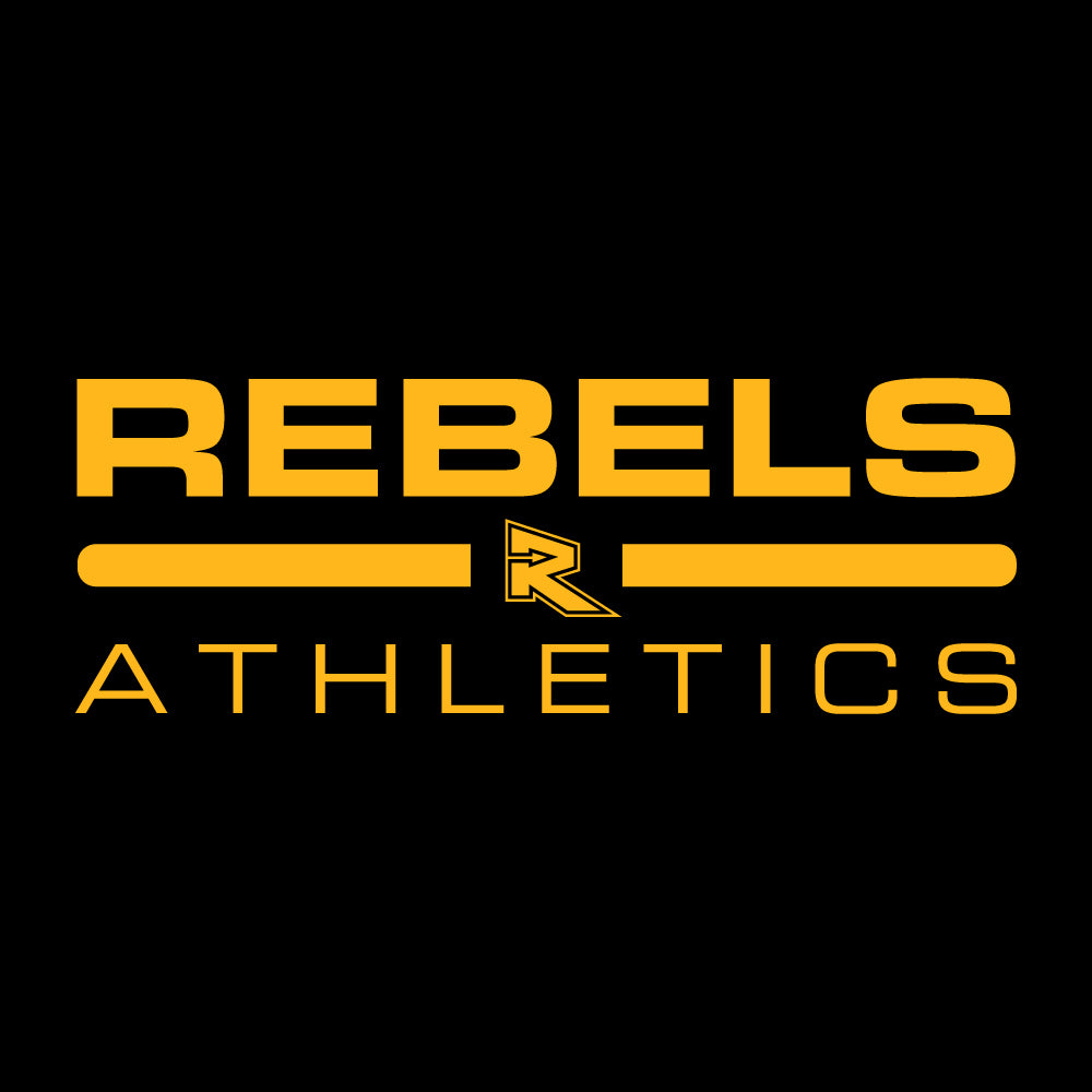 Rebels Athletics Under Armour® Locker 2.0 Long Sleeve Performance Tee - Black
