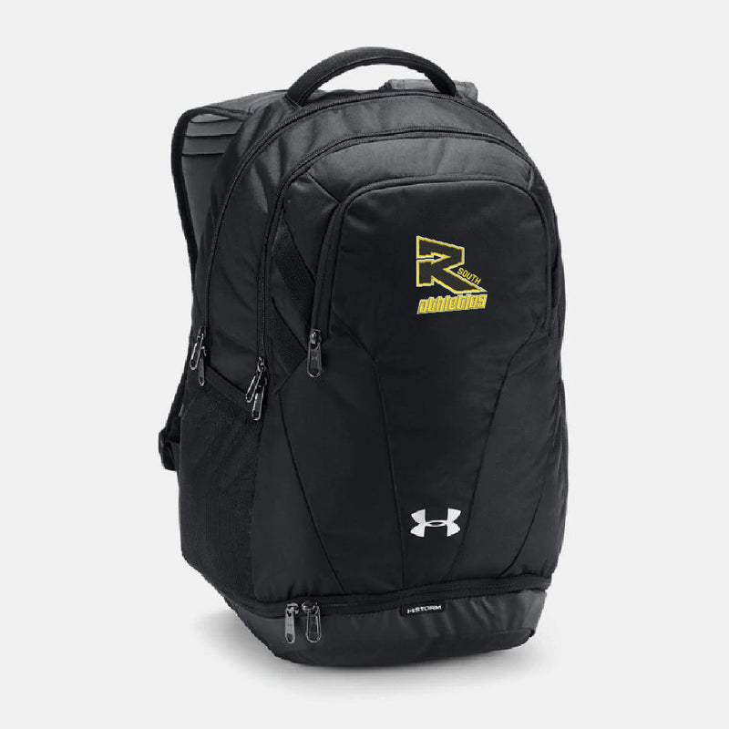 Rebels Athletics Under Armour® UA Team Hustle 3.0 Backpack - Black
