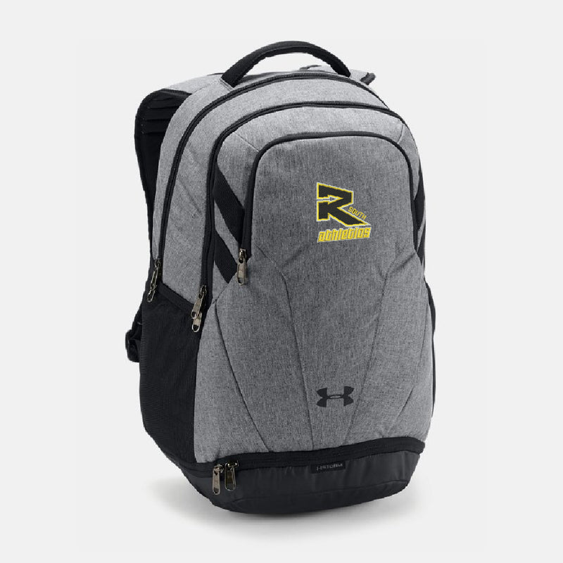 Rebels Athletics Under Armour® UA Team Hustle 3.0 Backpack - Graphite Heather