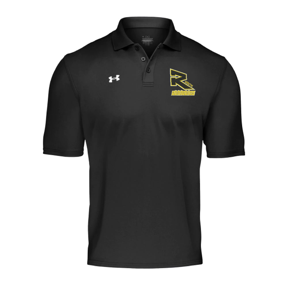 Rebels Athletics Under Armour® Team Armour Performance Polo - Black