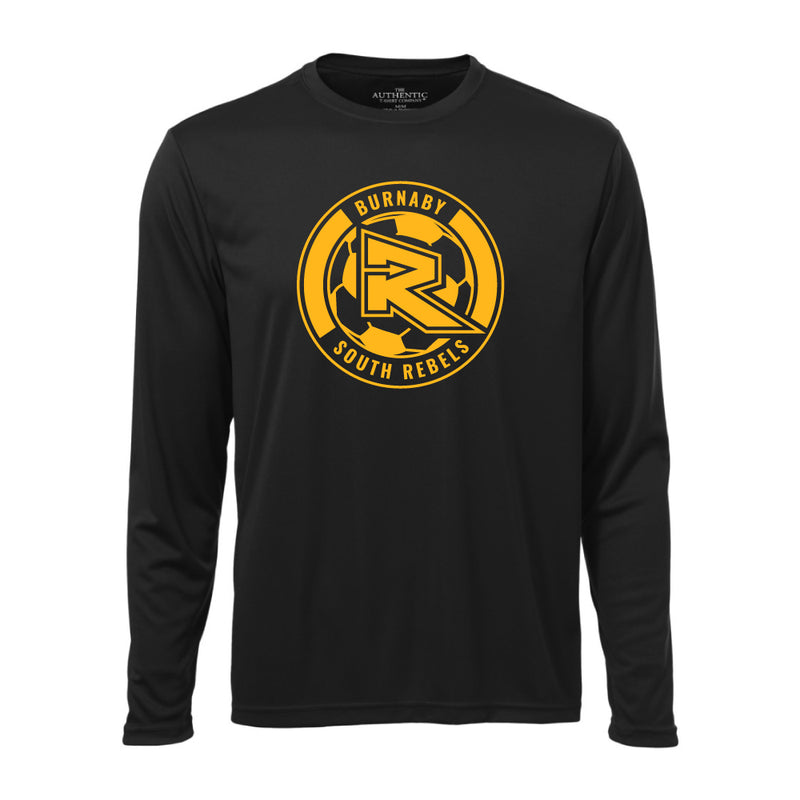 Rebels Soccer ATC™ Long Sleeve Performance Shirt - Black