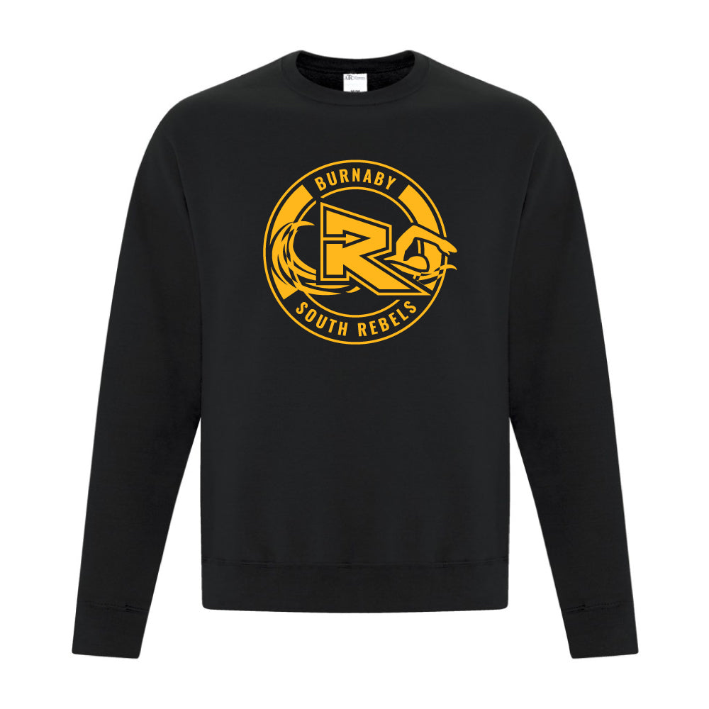Rebels Swimming ATC™ Crewneck Sweatshirt - Black