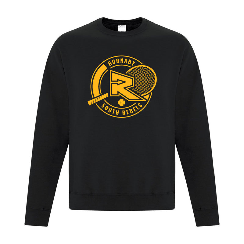Rebels Tennis ATC™ Crewneck Sweatshirt - Black