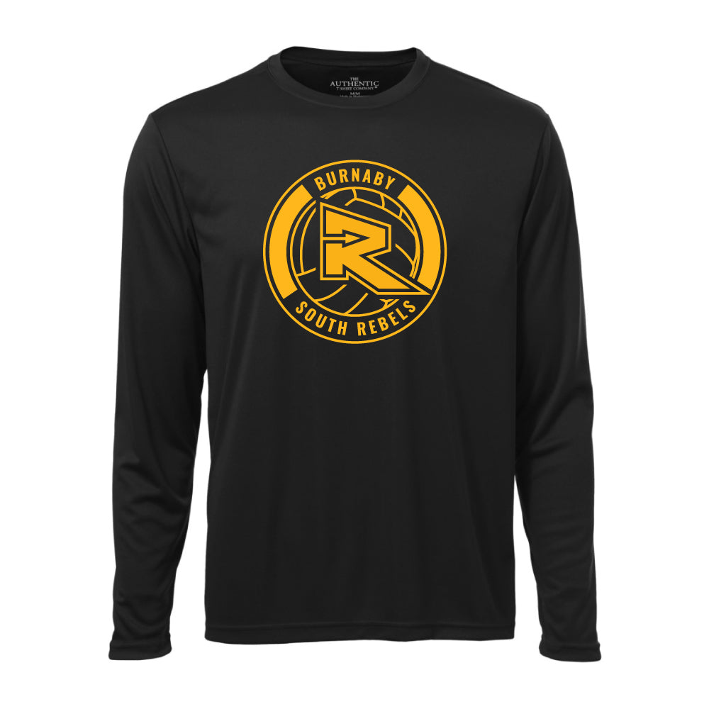 Rebels Volleyball ATC™ Long Sleeve Performance Shirt - Black