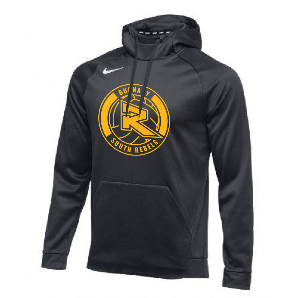 Rebels Volleyball Nike® Therma Performance Hoodie - Black