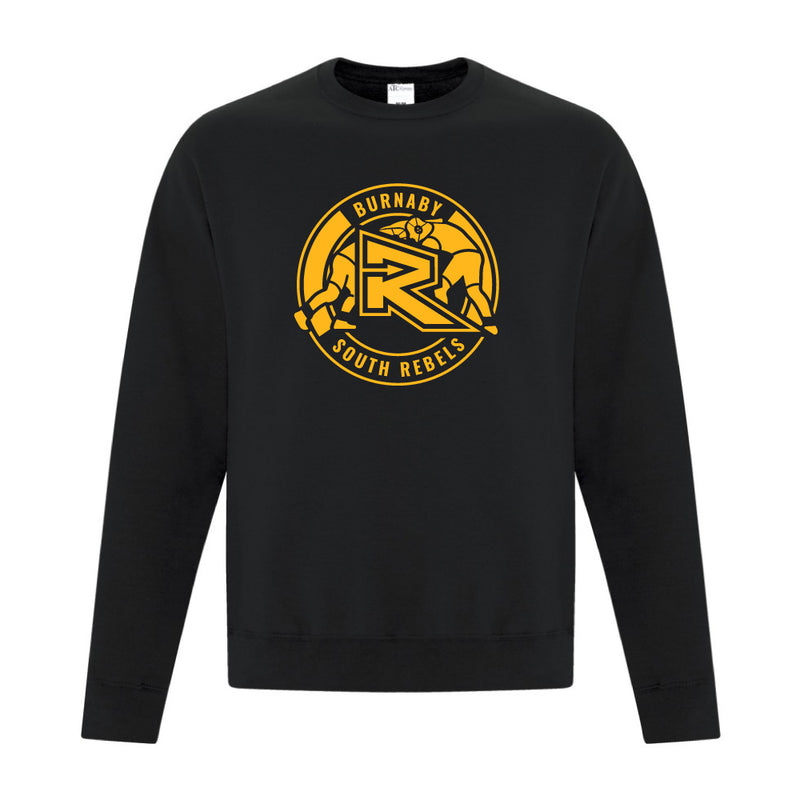 Rebels Wrestling ATC™ Crewneck Sweatshirt - Black