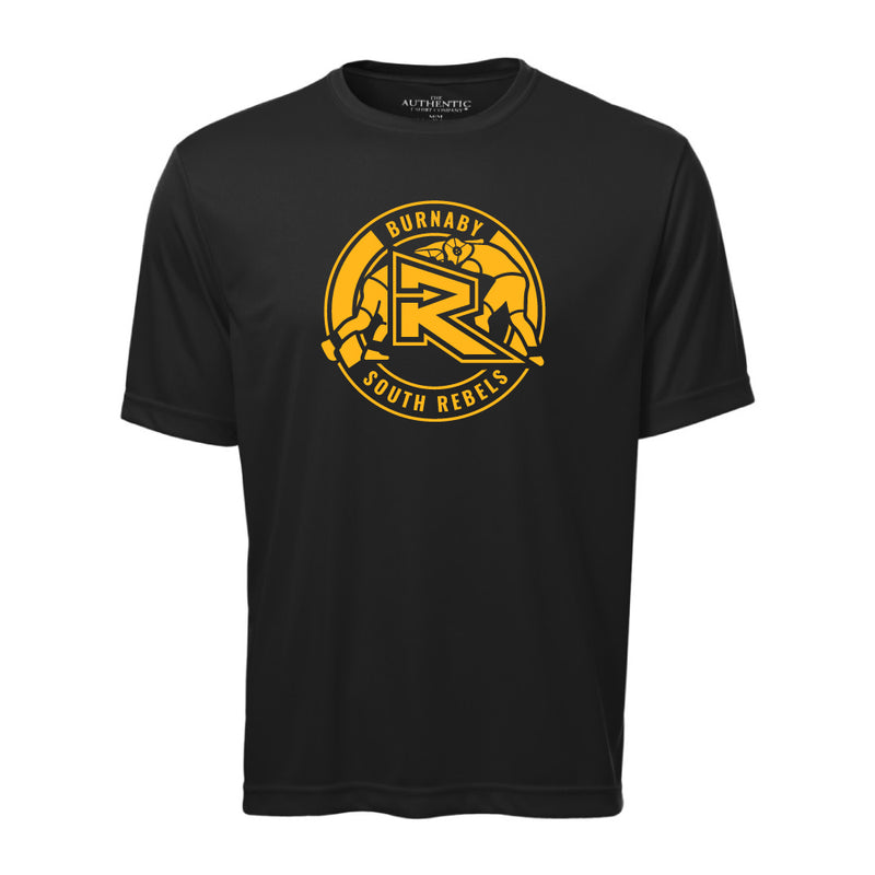 Rebels Wrestling ATC™ Short Sleeve Performance Shirt - Black