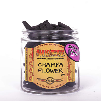 Backflow Incense Cones - Champa Flower Incense Cones Incense Flow