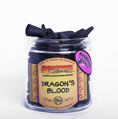 Backflow Incense Cones - Dragon's Blood Incense Cones Incense Flow