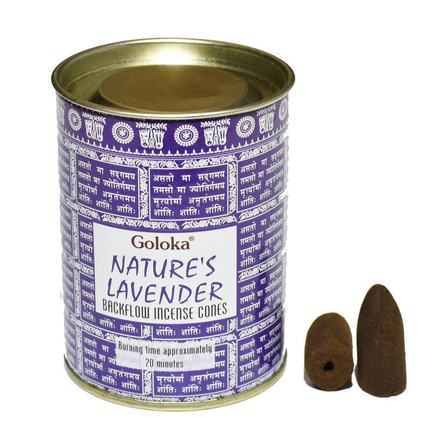 Backflow Incense Cones - Lavender Incense Cones Incense Flow