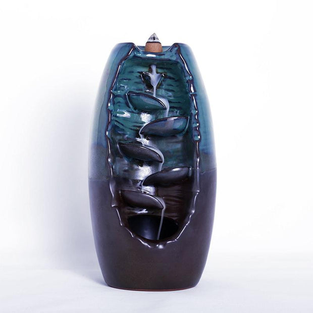 Waterfall Backflow Incense Burner Incense Burner Incenseflow