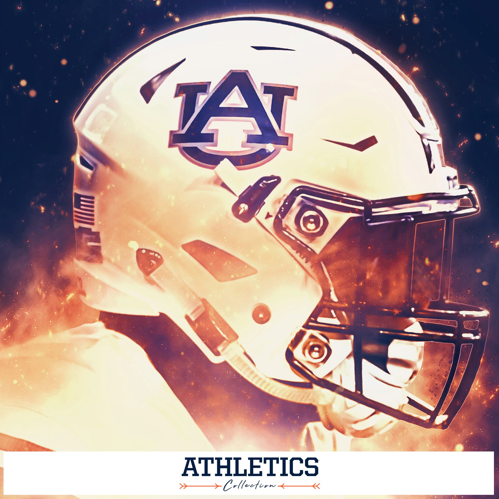 AUBURN TIGERS - ATHLETICS COLLECTION
