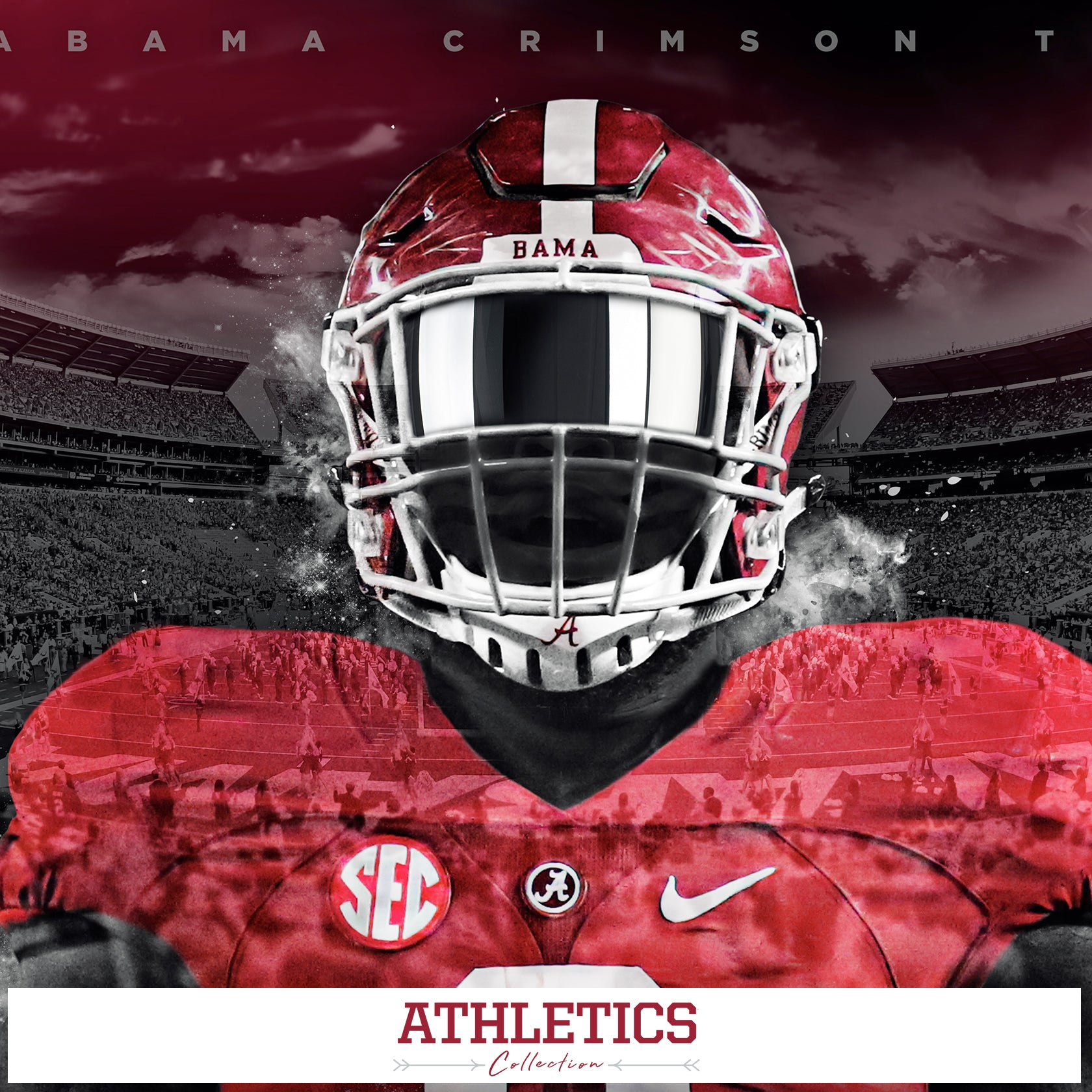 Alabama Crimson Tide - Athletics Photo Canvas Prints