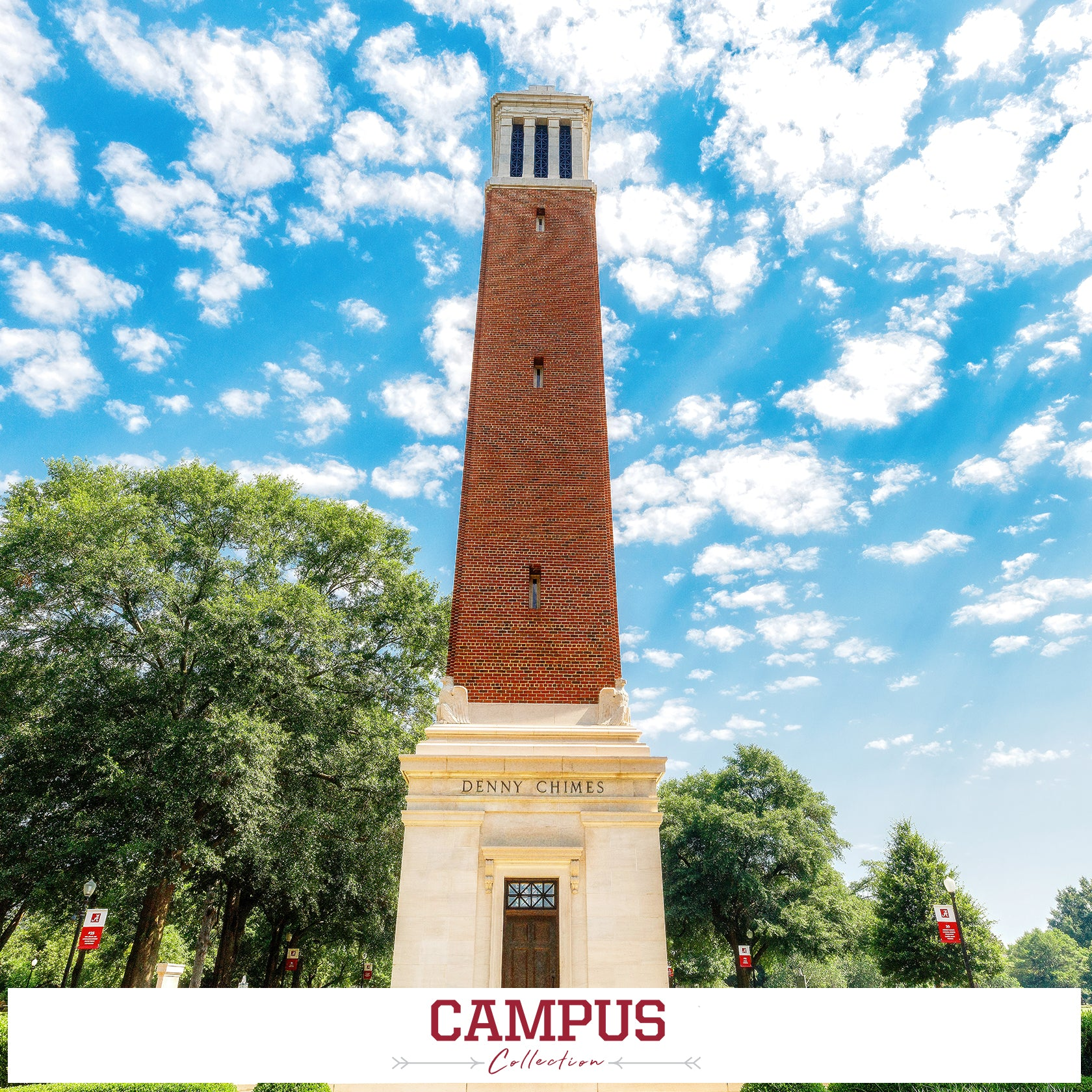 Alabama Crimson Tide - Campus Collection Photo Prints