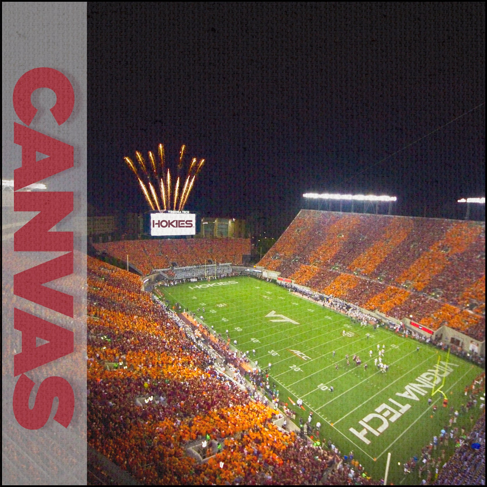 Virginia Tech Hokies - Canvas