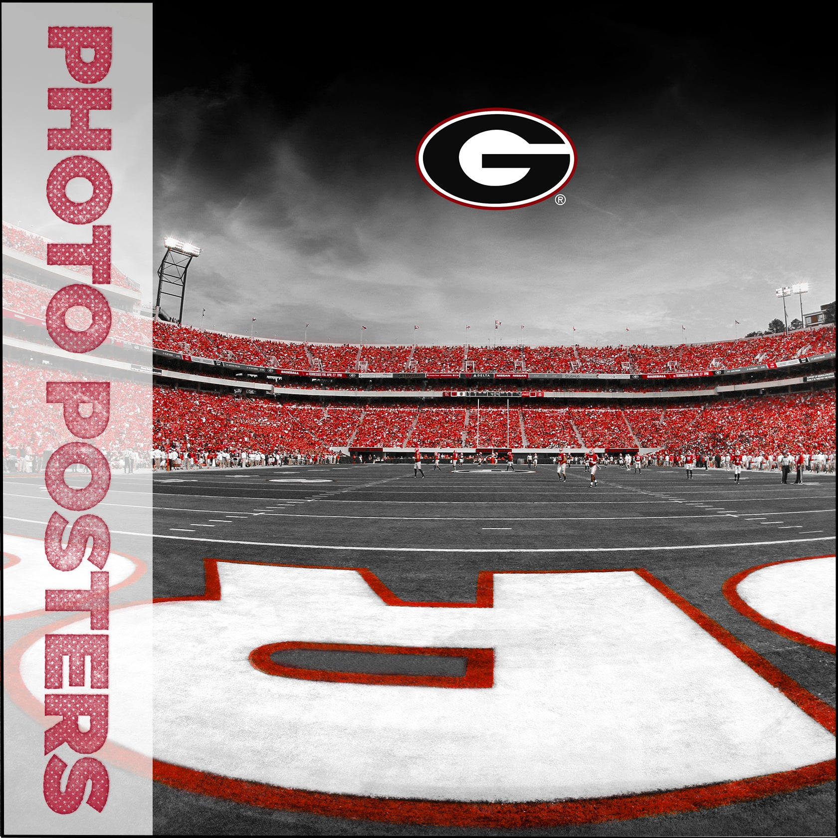 Georgia Bulldogs - Poster
