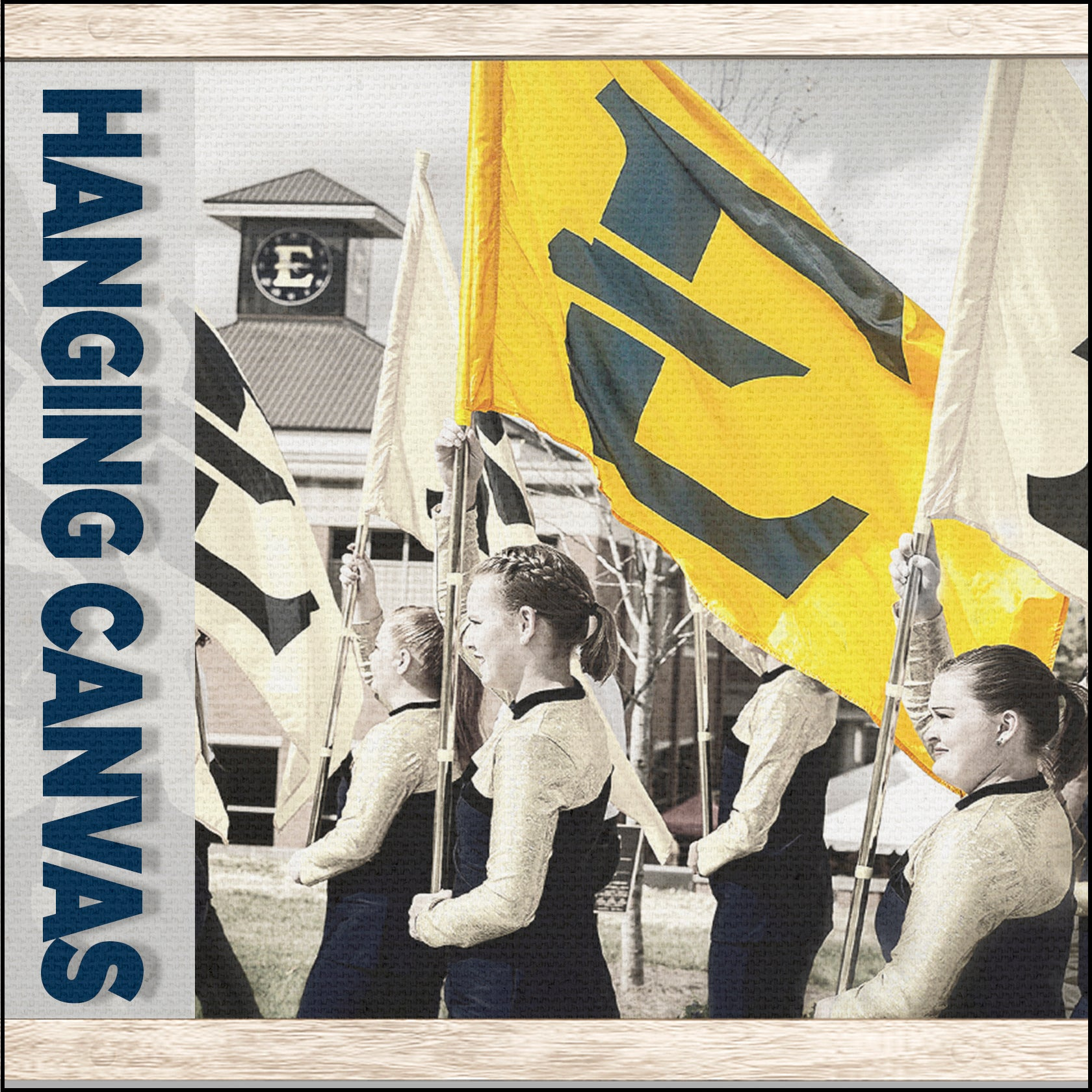 East Tennessee State University - Hanging Canvas