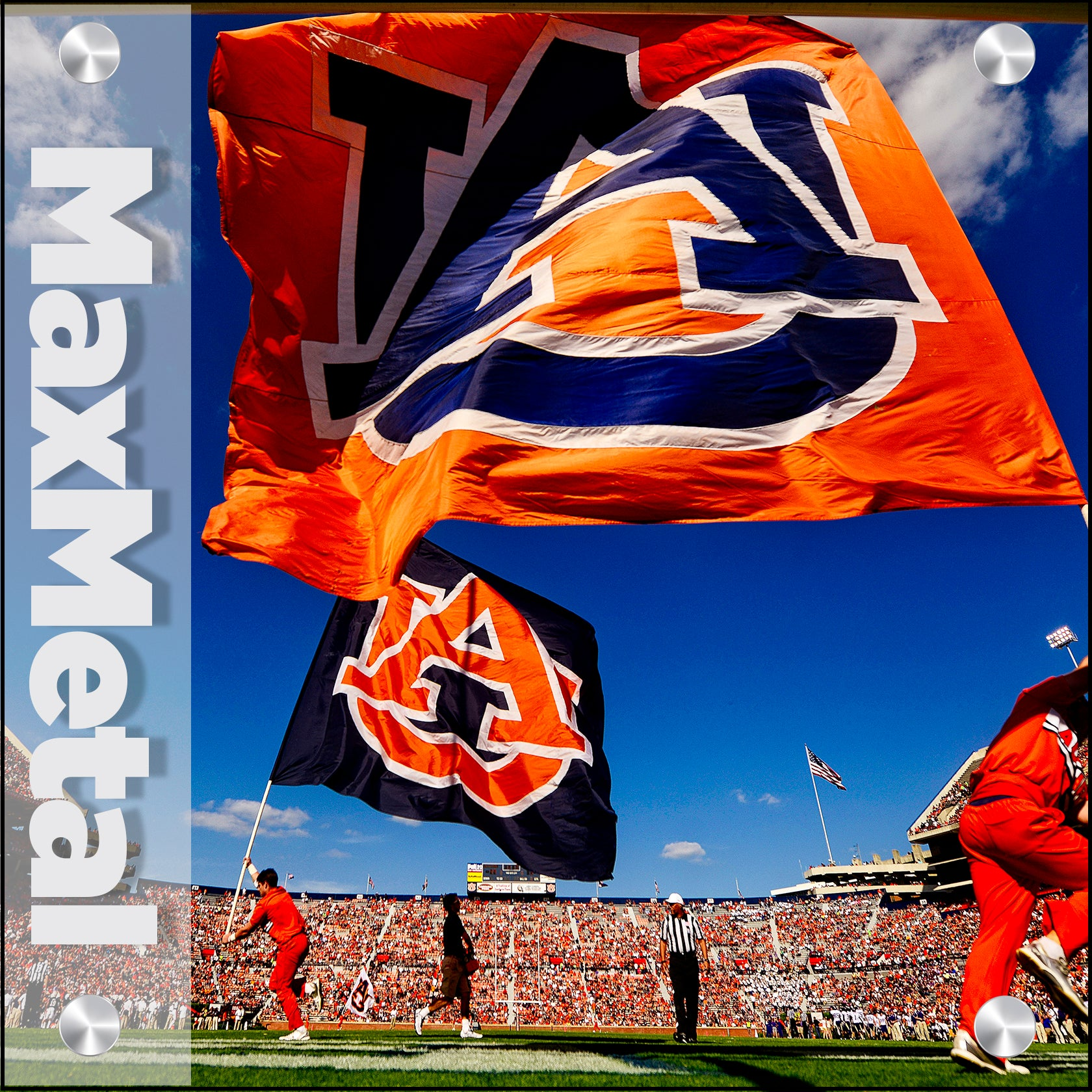 Auburn Tigers - Metal Wall Art
