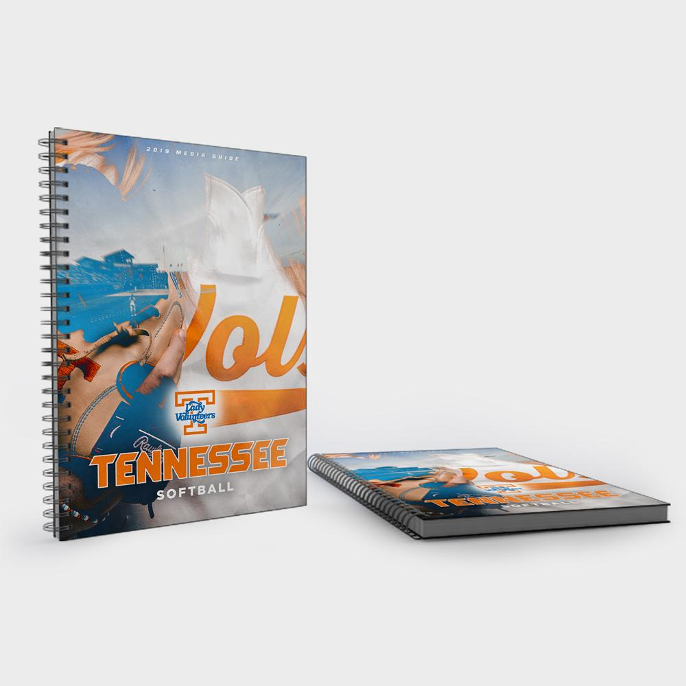 Tennessee Volunteers - 2019 University of Tennessee Softball Media Guide - College Wall Art #Media Guide