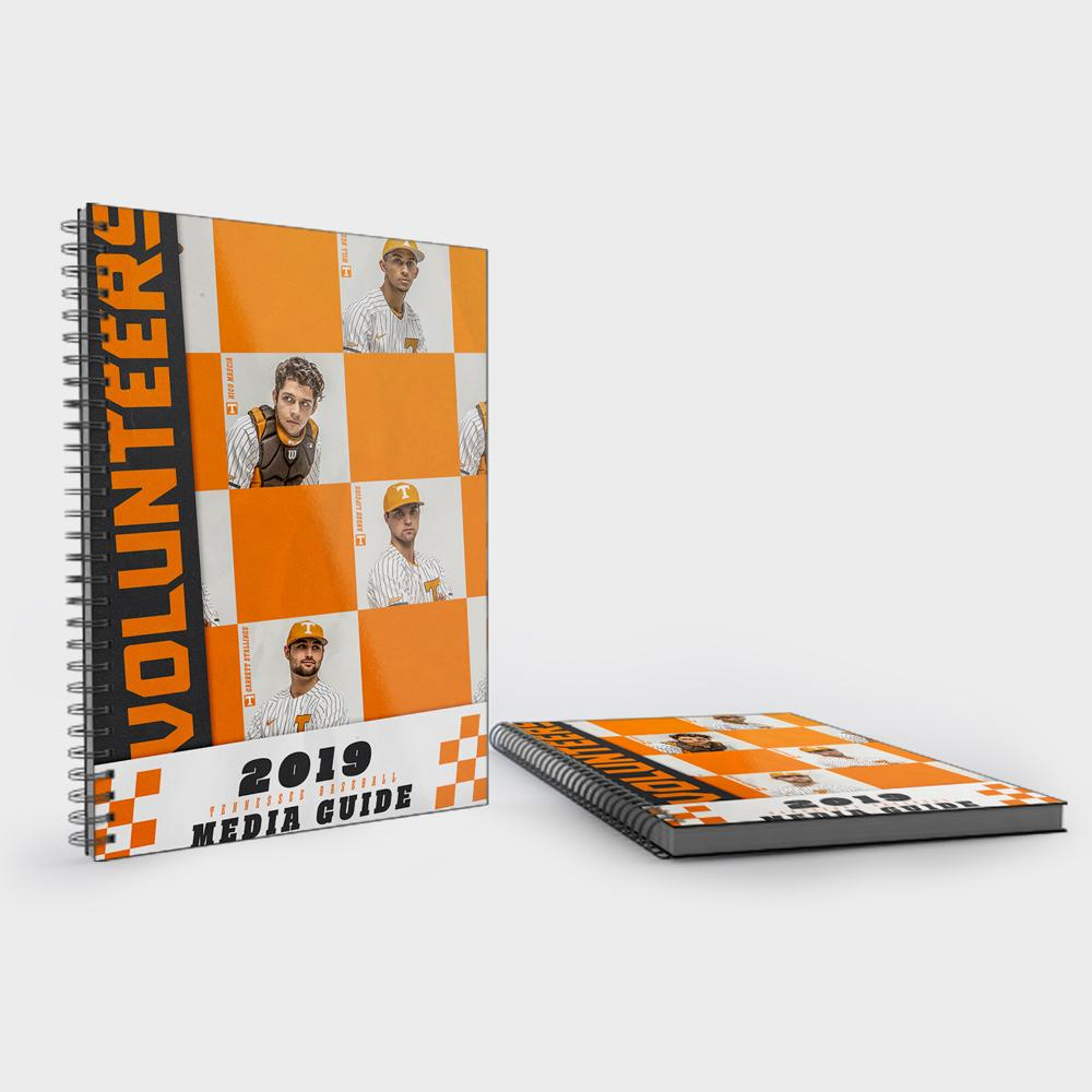 Tennessee Volunteers - 2019 University of Tennessee Baseball Media Guide - College Wall Art #Media Guide