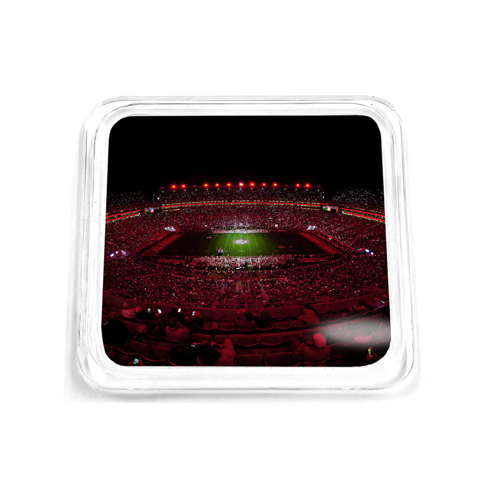 Alabama Crimson Tide - Light Up A Crimson Bryant-Denny Drink Coaster