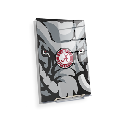 Alabama Crimson Tide - Crimson Elephant - College Wall Art #Acrylic Mini