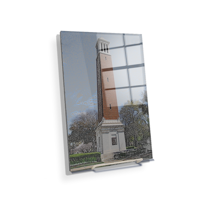 Alabama Crimson Tide - Denny Chimes - College Wall Art #Acrylic Mini