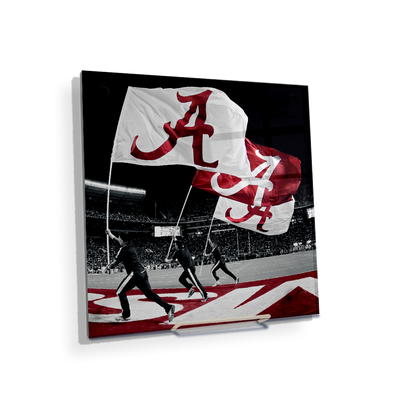 Alabama Crimson Tide - Alabama Flags - College Wall Art #Acrylic Mini