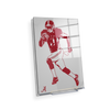 Alabama Crimson Tide - Bama Illustration - College Wall Art #Acrylic Mini