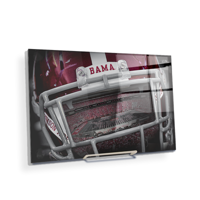 Alabama Crimson Tide - Bama Helmet - College Wall Art #Acrylic Mini