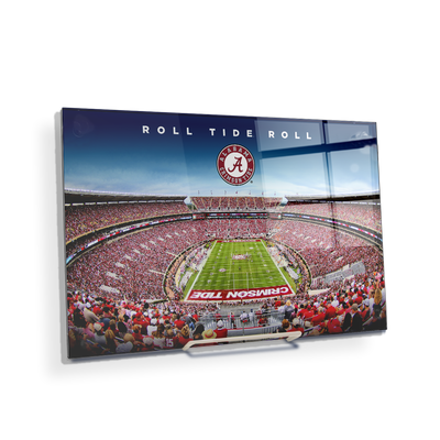 Alabama Crimson Tide - Roll Tide Roll - College Wall Art#Acrylic Mini
