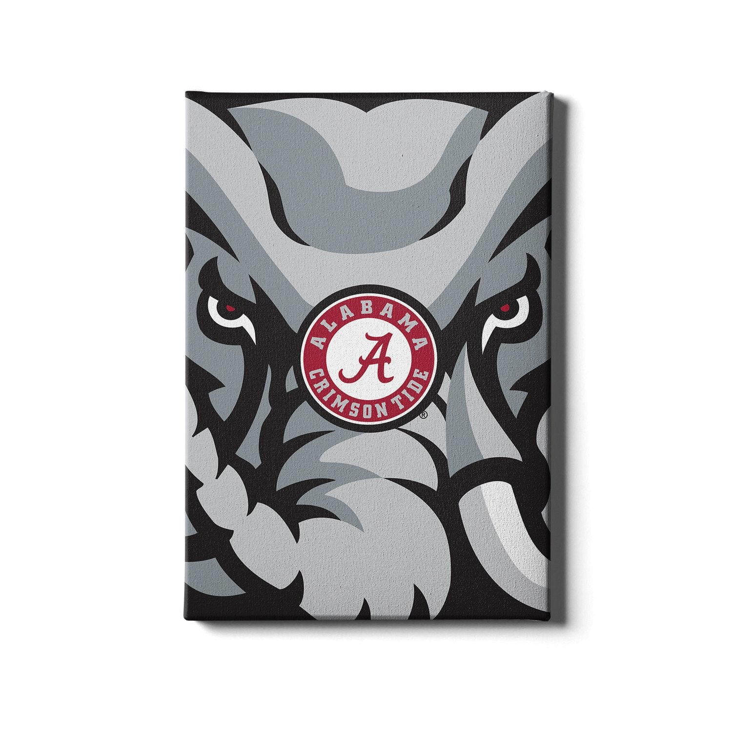 Alabama Crimson Tide - Crimson Elephant #Canvas