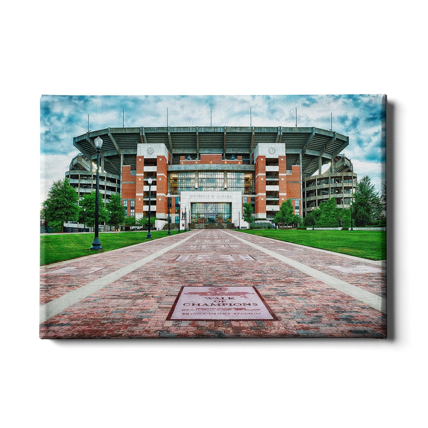 Alabama Crimson Tide - Bryant-Denny Stadium #Canvas
