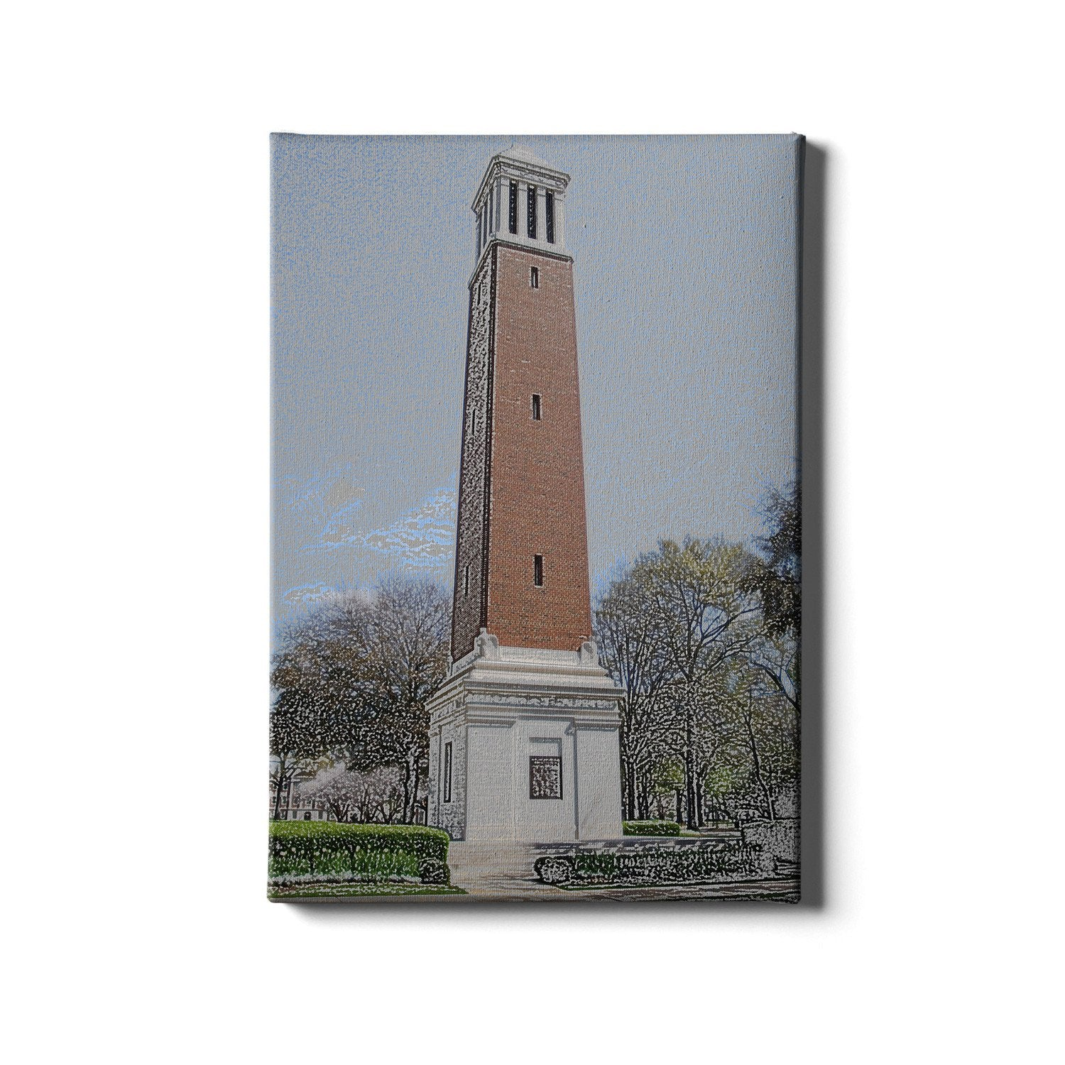 Alabama Crimson Tide - Denny Chimes - College Wall Art #Canvas