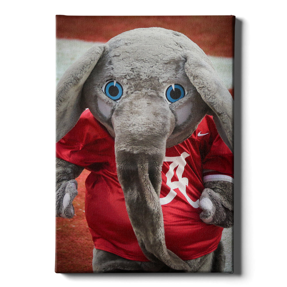 Alabama Crimson Tide - Big Al #Canvas