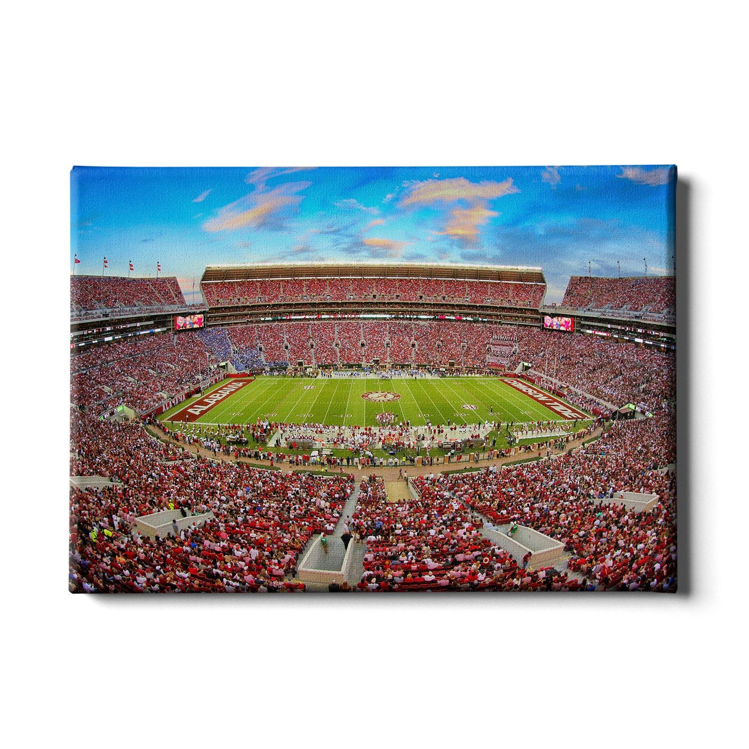 Alabama Crimson Tide - Bryant Denny - College Wall Art #Canvas