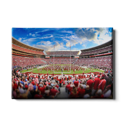 Alabama Crimson Tide - Bryant Denny MDB Field - College Wall Art #Canvas