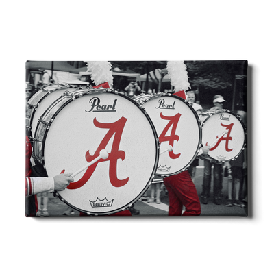 Alabama Crimson Tide - MDB Drums - College Wall Art #Canvas