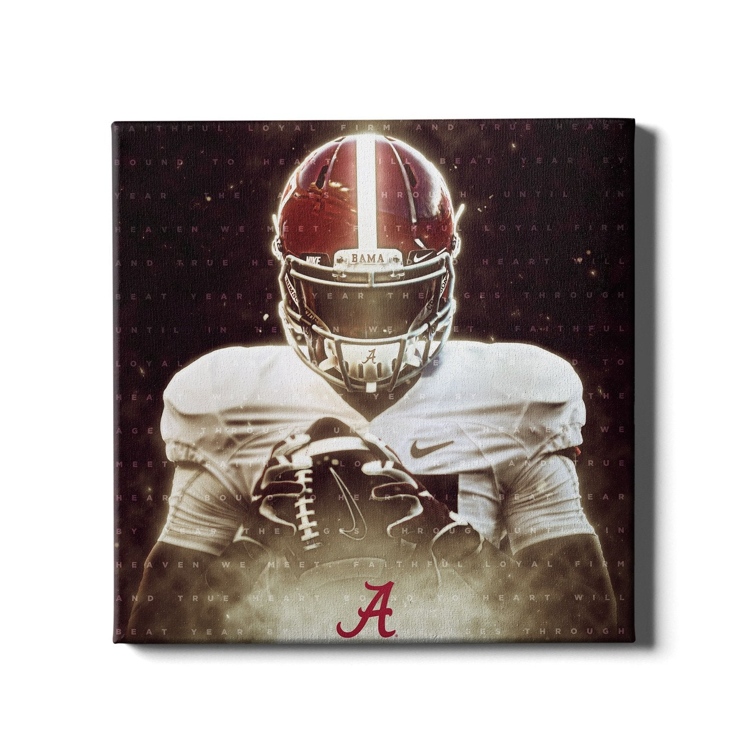 Alabama Crimson Tide - Epic Bama Alma Mater - College Wall Art #Canvas