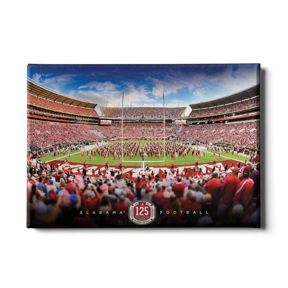 Alabama Crimson Tide - Alabama Football 125 Years - College Wall Art #Canvas