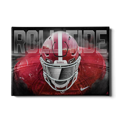 Alabama Crimson Tide - Bama Bring It - College Wall Art #Canvas