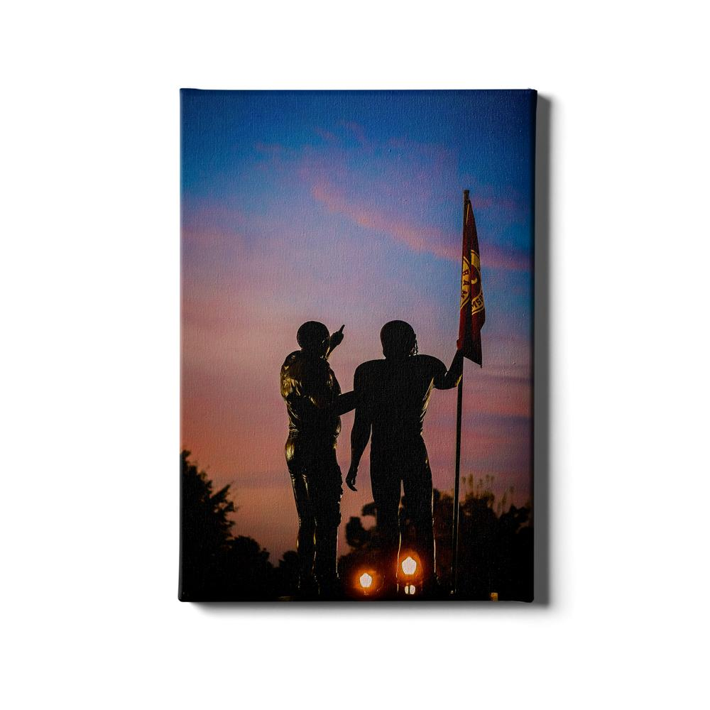 Alabama Crimson Tide - Sky's The Limit Bama #Canvas