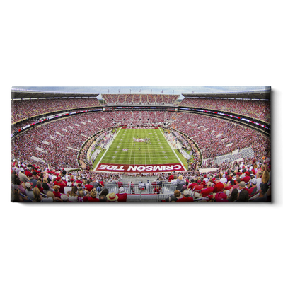 Alabama Crimson Tide - Crimson Tide Pano - College Wall Art #Canvas