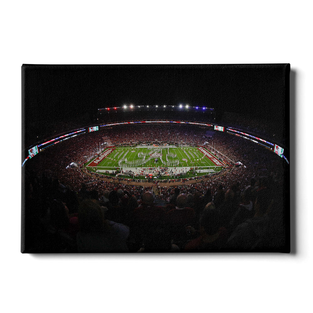 Alabama Crimson Tide - Alabama National Anthem - College Wall Art #Canvas