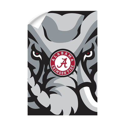 Alabama Crimson Tide - Crimson Elephant - College Wall Art #Wall Decal