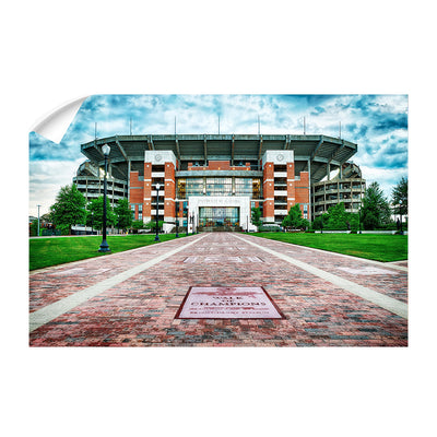 Alabama Crimson Tide - Bryant Denny Stadium - College Wall Art #Wall Decal