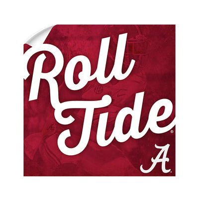 Alabama Crimson Tide - Roll Tide A - College Wall Art #Wall Decal