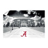 Alabama Crimson Tide - Bryant Denny Black & White - College Wall Art #Wall Decal